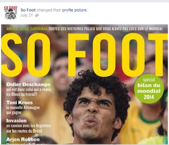 La cover facebook et la photo de profil changent à chaque nouveau numéro papier